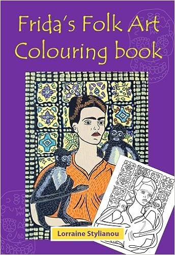 Frida Kahlo - Frida\'s Folk Art Colouring Book: Amazon.co.uk ...