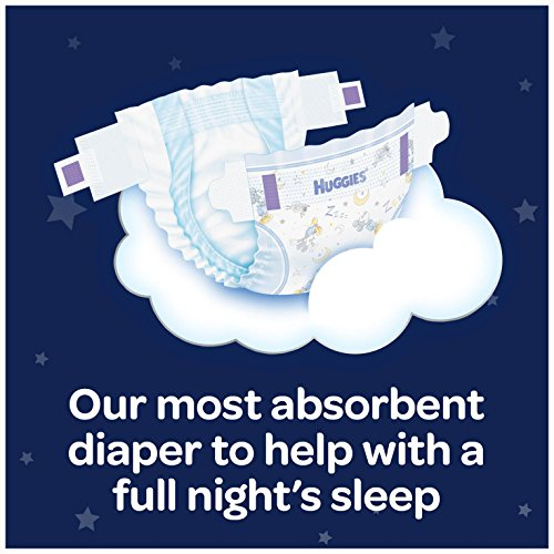 Large Product Image of HUGGIES OverNites Diapers, Size 6 for over 35 lbs., Pack of 54 Overnight Baby Diapers