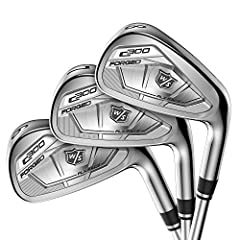 Introducing the new C300 forged irons from Wilson Staff. Soft, forged carbon steel delivers the feel and responsiveness you demand while power holes along the toe and sole instantly add yards and accuracy to your game. With Wilson C300, the p...