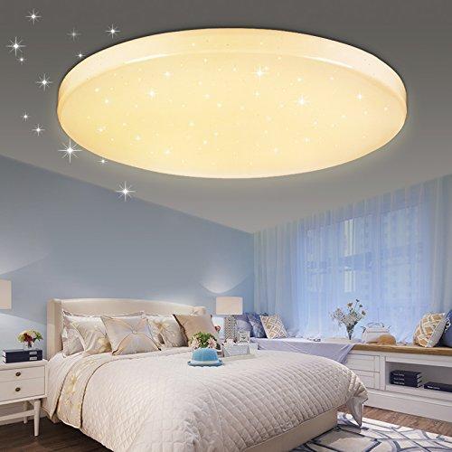 Reviewmeta Com Vgo 16w Led Starlight Effekt Deckenlampe Warmweiss