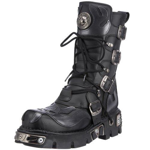 New Rock 107-E2, Scarpe casual, uomo nero