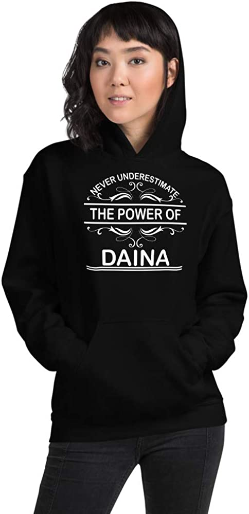 Never Underestimate The Power of Daina PF Black