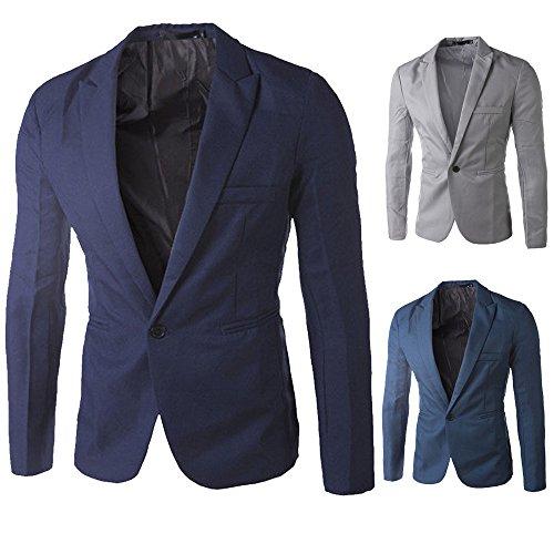 Di Un Marina Forma Casual Blazer Giacca Harrystore Sottile Tela Mens Giacca Tasto Outwear Cime wgOzqXq