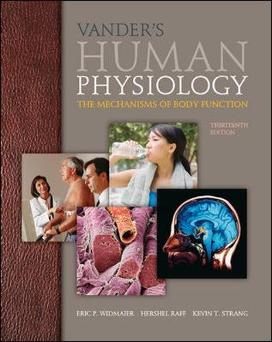 Vendor Mechanism - Vander's Human Physiology: The Mechanisms of Body Function, 13th Edition