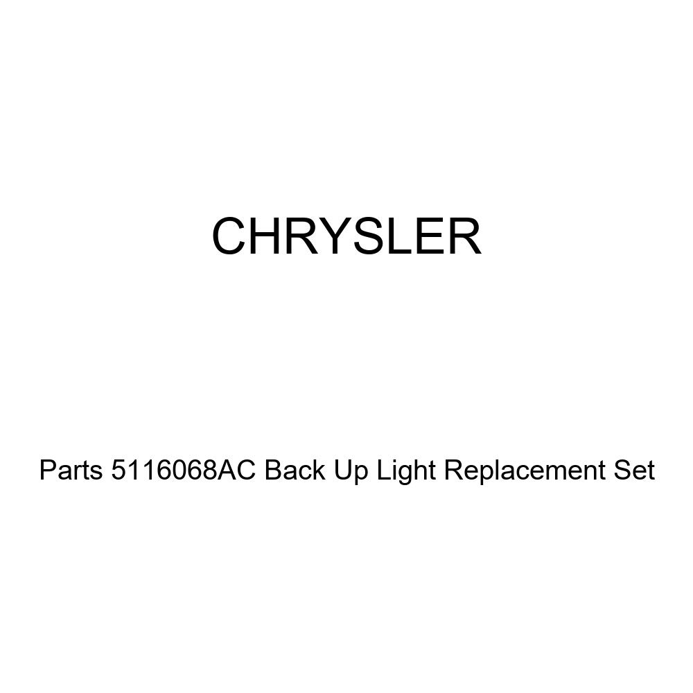 Genuine Chrysler Parts 5116068AC Back Up Light Replacement Set