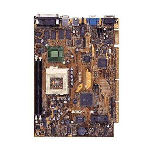 Asus Socket 370 - ASUS MES-N Asus NLX motherboard. Socket 370 SiS 5595 chipset. 2 DIMM socket Generic White Computer w/ ASUS MES-N Motherboard Intel Celeron 433MHz