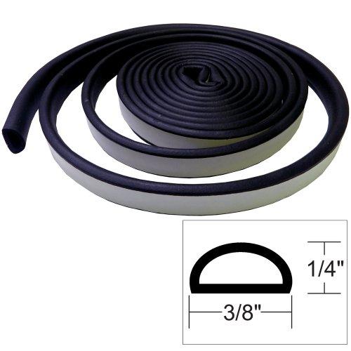 "Price comparison product image Taco 1 / 4"" X 3 / 8"" Weather Seal Black 10'"