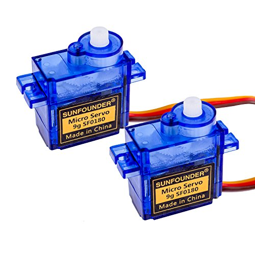 SunFounder SG90 Micro Digital Servo Motor SF0180 RC Helicopter Airplane Boat Robot Controls 9G 2pack