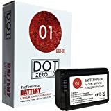 DOT-01 Brand 2200 mAh Replacement Sony NP-FW50 Battery for Sony RX10 M3 Digital Camera and Sony FW50