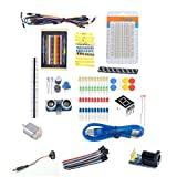Diymal Beginner UNO R3 Learning Kit Parts for Arduino Starter Kits LED Set Xmas Gift Experiment