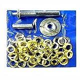 Tarp Tent Awning Repair Set Tool Grommet Ring Hole Install Kit Installer Setter