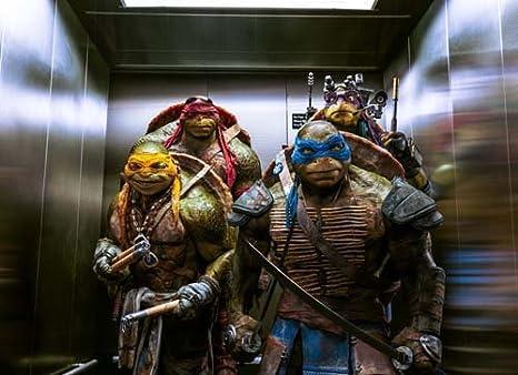 Amazon.com: Poster A4 pattern N Teenage Mutant Ninja Turtles ...