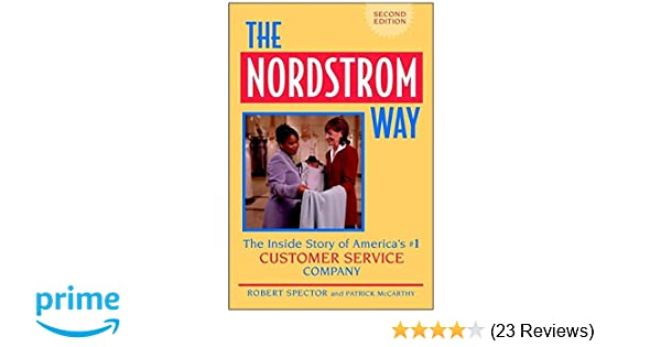 nordstrom focusing on a culture of service case study answers