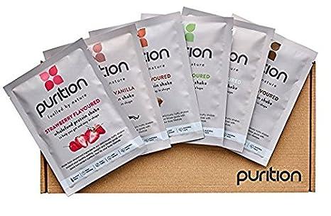 Amazon.com: wholefood Proteína Shake Prueba Box (6 comidas ...