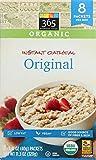 365 Everyday Value Organic Instant Oatmeal Original 8 Pack, 11.29 OZ