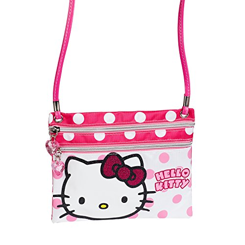 Karactermania 41532 Hello Kitty Borsa Messenger, 22 cm, Rosa