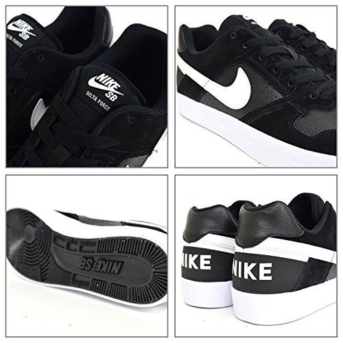 Nike Mænds Sb Delta Force Vulc Skate Sko Sort / Hvid-antracit-hvid teo4os