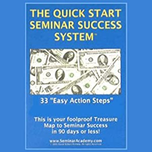 The Quick Start Seminar Success System Audiobook