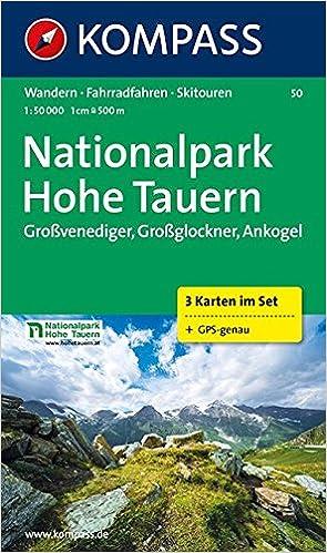 Hohe Tauern Karte.Nationalpark Hohe Tauern 1 50 000 Großvenediger Großglockner