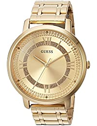 Women's Quartz Watch with Stainless-Steel Strap, Gold, 18 (Model: U0933L2)