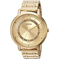Women's Quartz Stainless Steel Casual Watch, Color:Gold-Toned (Model: U0933L2)