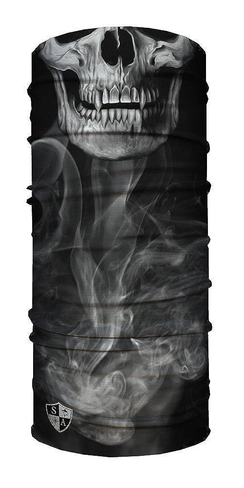 SA Face Shield Bandana Máscaras Skull Tech Crow 50148x