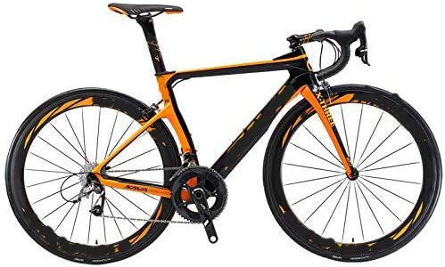 KEMANDUO Fibra de Carbono Bicicleta de Carretera, Bicicletas de ...