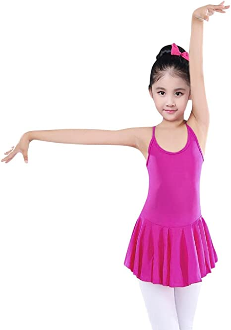 Black Dance or Ballet Leotard for Girls Ages 12-24 Months Small