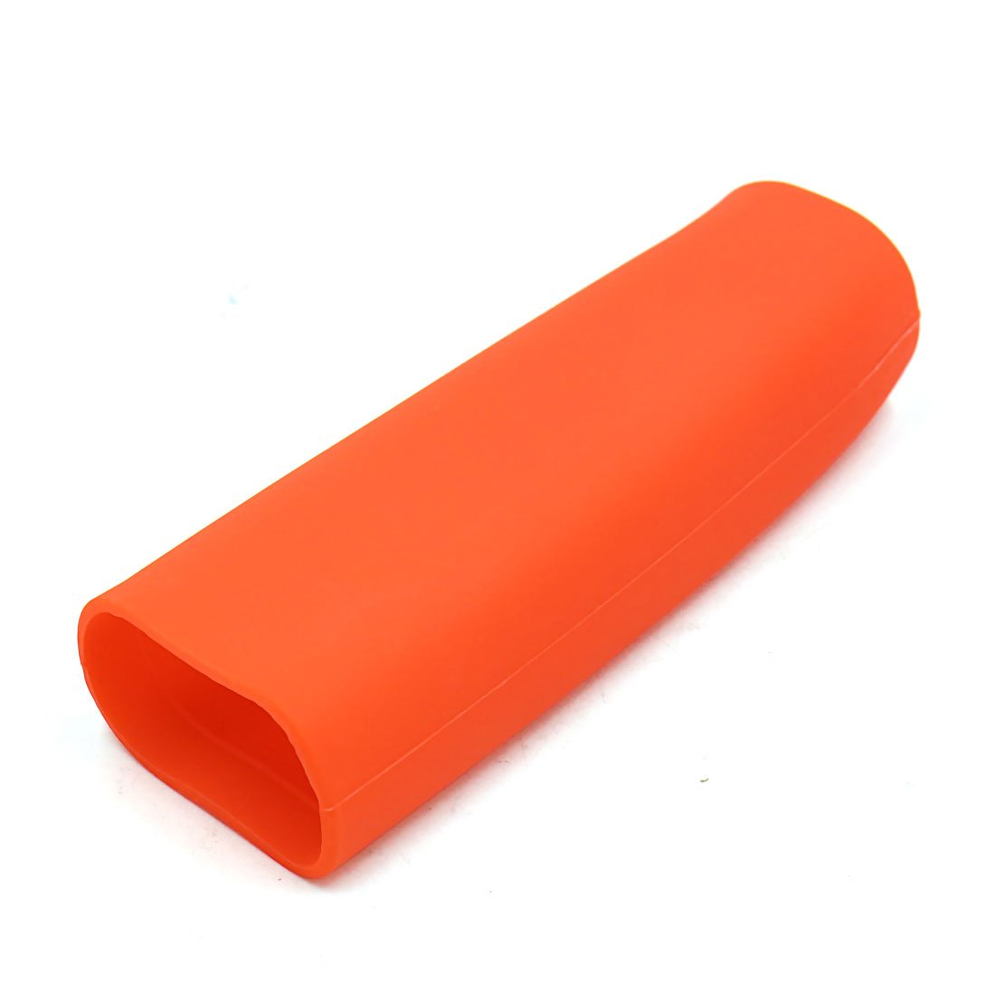 sourcingmap Car Universal Orange Silicone Gel Nonslip Hand Brake Lever Cover