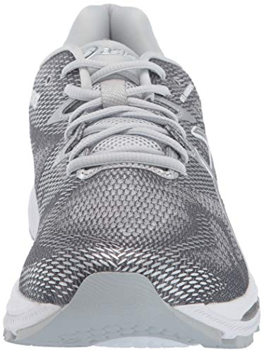 ASICS Mens Fitness/Cross-Training Trail Running Shoe, Carbon/Silver/White, 7 Medium US by ASICS (Image #4)