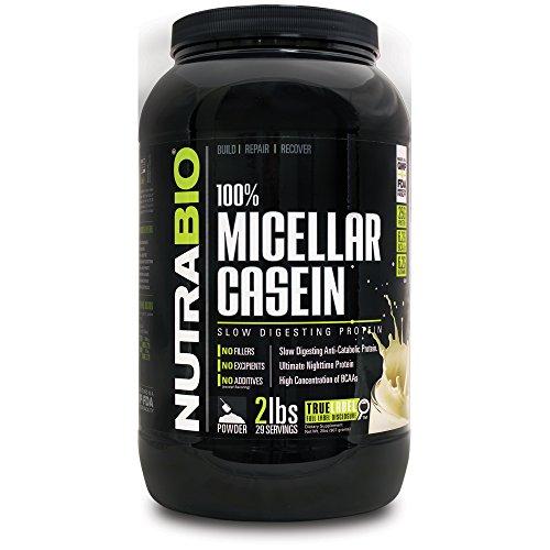 NutraBio 100% caséine micellaire