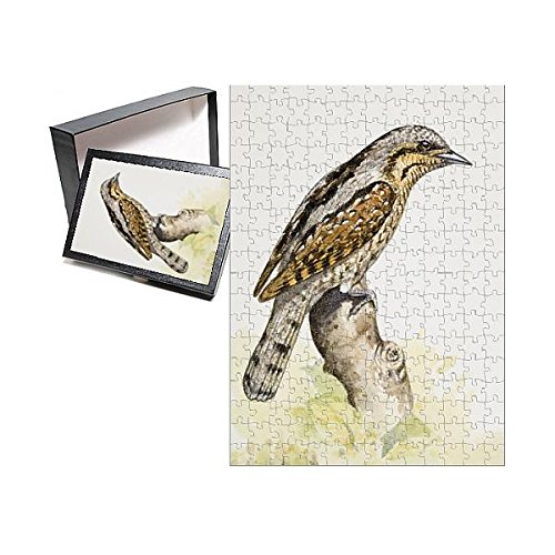 Media Storehouse 252 Piece Puzzle of Eurasian Wryneck (Jynx torquilla), Perching on a Branch, Side View (13557467)