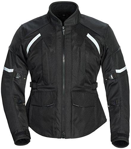 (TourMaster Women's Sonora Air 2.0 Jacket Black Medium)