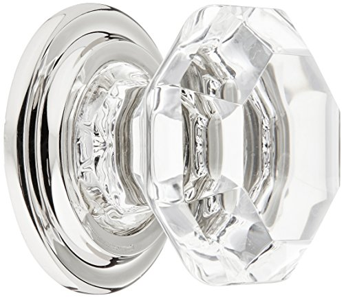 Emtek Products Crystal Knob - Emtek 86028US14 EMT Old Town Clear Pull