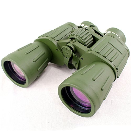 60X50 Perrini Green Army Binoculars With Bag Good Quality Review