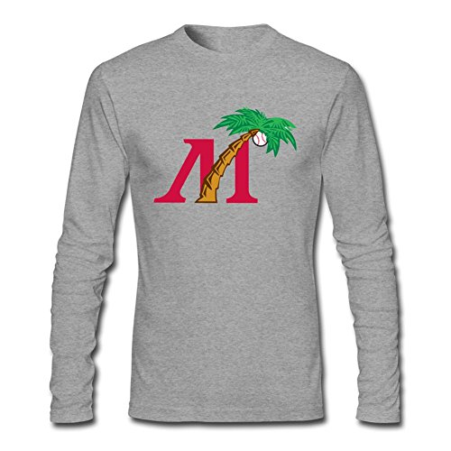 Yang Men's Fort Myers Miracle Logo Long Sleeve T Shirt - Kids With Myers Fort