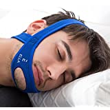 Anti Snoring Chin Strap for Mouth snorers - Stop Snoring Solution and Anti Snoring Devices - Snoring Chin Strap - [Upgraded Version]