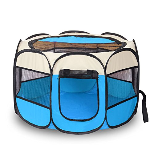 Cheap  AikoPets Pet Tent Portable Folding Dog Cat House Bed Tent Waterproof Indoor..
