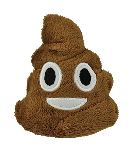 I Love Emoji Poo Beanbag