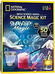 NATIONAL GEOGRAPHIC Science Magic Kit - Perform 20 Unique Science Experiments as Magic Tricks, Includes Magic