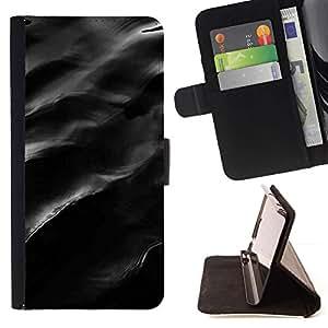 Momo Phone Case / Flip Funda de Cuero Case Cover - Sombre - HTC Desire 626