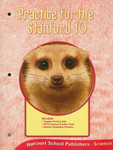 Harcourt Science Alabama: Practice For Stanford 10 Student Edition Grade 2