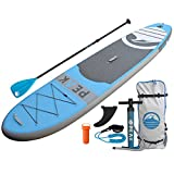 Peak Inflatable 10'6 All Around Stand Up Paddle Board...