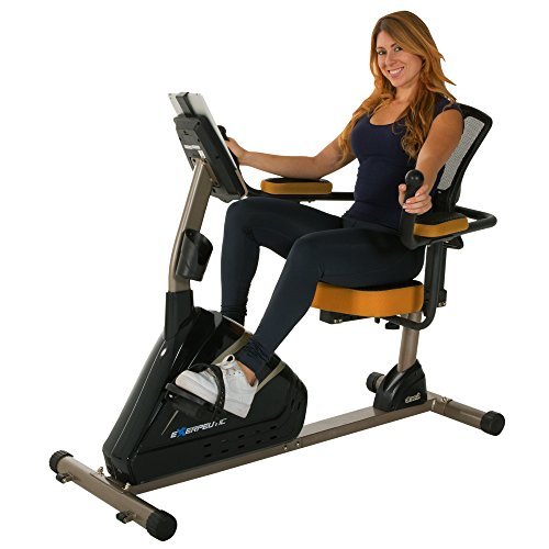Exerpeutic 4000 Magnetic Recumbent Bike with 12 Workout Programs Paradigm Health & Wellness Inc. -- DROPSHIP