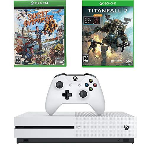 Microsoft Xbox One S 1TB 4K BluRay Console Titanfall 2 & Sunset Overdrive Bundle