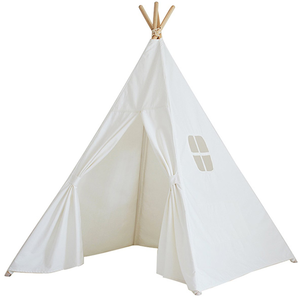 kindertipi indianerzelt tipi 100 baumwolle zelt stoff kinder spielzelt spielhaus wigwam. Black Bedroom Furniture Sets. Home Design Ideas