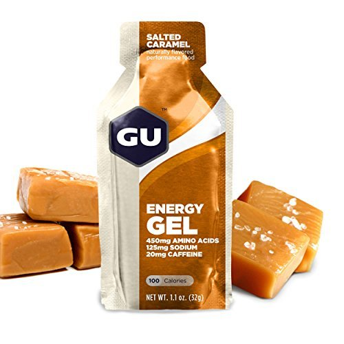 GU Original Sports Nutrition Energy Gel, Salted Caramel, 8-Count by GU Energy Labs (Gu Energy Labs Original compare prices)