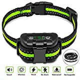 Best Bark Collars For Dogs - Newest Shock Collar for dogs,Training Collar with Remote,Dog Review