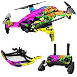 Cheap MightySkins Skin for DJI Max Coverage – Colorful Flowers | Protective, Durable, and Unique Vinyl Decal wrap Cover | Easy to Apply, Remove, and Change Styles | Made in The USA