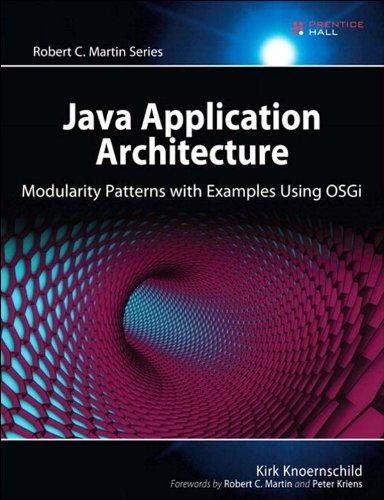 Java Application Architecture: Modularity Patterns with Examples Using OSGi (Robert C. Martin Series) Pdf